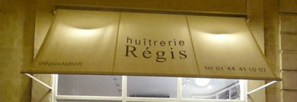 Huitrerie Regis: great oyster bar in the 6th