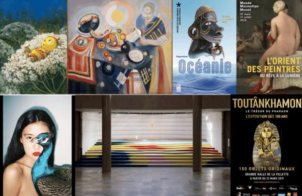 Spring Summer 2019 exhibitions