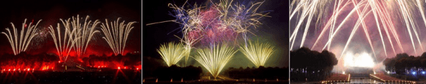 Biggest fireworks in Europe - Domaine de Saint-Cloud September 7th