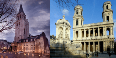 In our neighborhood: Saint Germain des Prés and Saint Sulpice Church