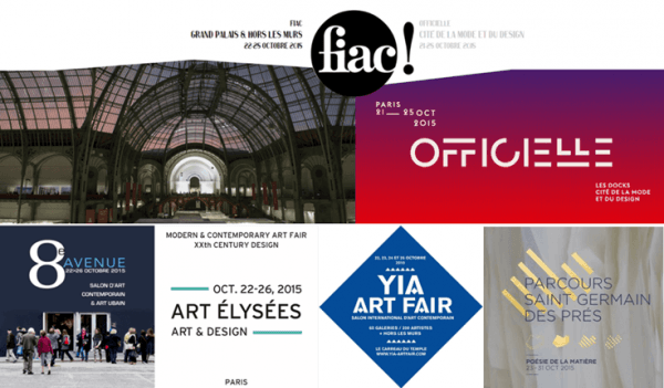 Contemporary Art week October 21st to 25th FIAC